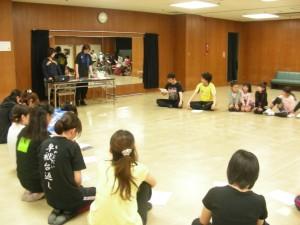 厚木ミュージカルカンパニー2013年夏公演「白蛇伝外伝」キャストオーディション風景1