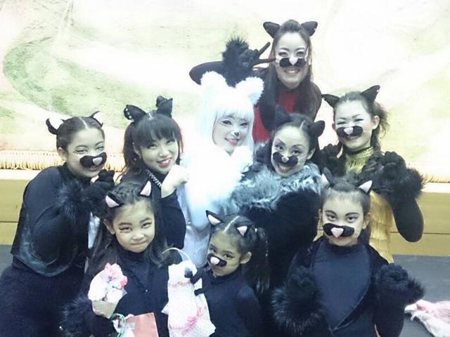 厚木ミュージカルカンパニー千秋楽終了後の黒猫チーム☆